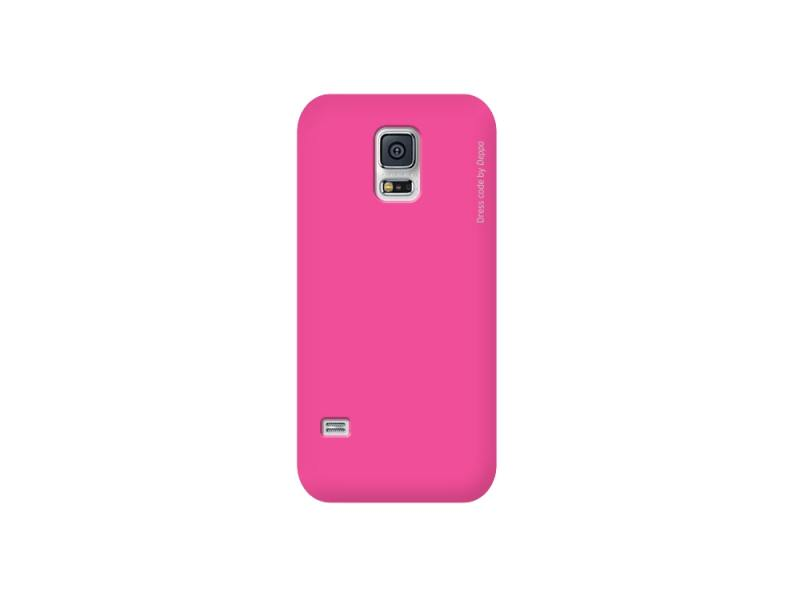Чехол-накладка для Samsung Galaxy S5 mini Deppa Air Case 83111 Pink клип-кейс, поликарбонат