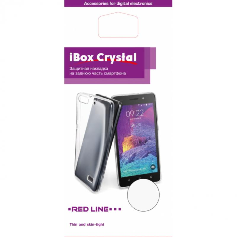Чехол-накладка для Samsung Galaxy A7 2016 iBox Crystal клип-кейс, силикон red line ibox crystal чехол для samsung galaxy j3 2016 clear