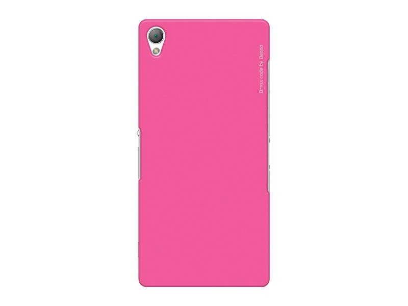 Чехол-накладка для Sony Xperia Z3 Deppa Air Case 83140 Pink клип-кейс, поликарбонат чехол накладка для sony xperia m5 deppa air case 83205 black клип кейс поликарбонат