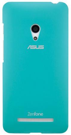 Чехол Asus для ZenFone A500 PF-01 COLOR CASE голубой 90XB00RA-BSL2I0 чехол для смартфона asus для zenfone 5 zen case красный 90xb00ra bsl110 90xb00ra bsl110