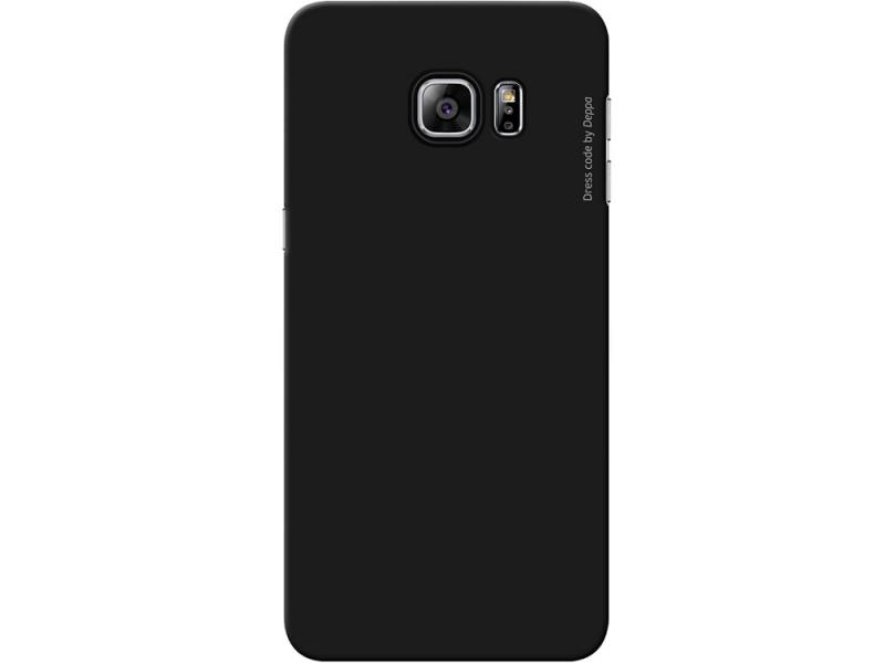 Чехол-накладка для Samsung Galaxy S6 edge+ Deppa Air Case 83197 Black клип-кейс, поликарбонат клип кейс uniq samsung galaxy s10e black
