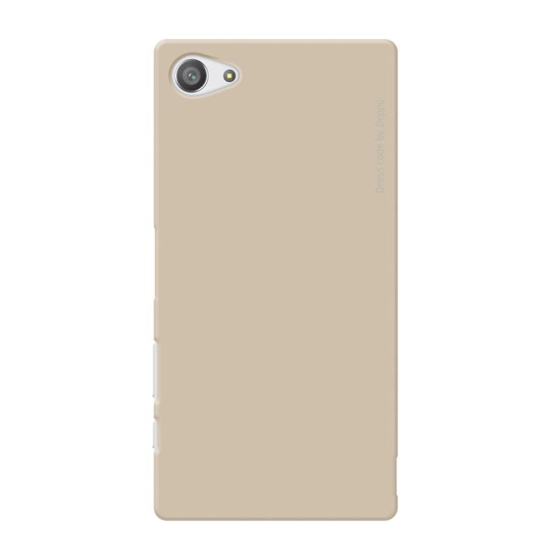 Чехол-накладка для Sony Xperia Z5 Compact Deppa Air Case 83216 Gold клип-кейс, поликарбонат цена