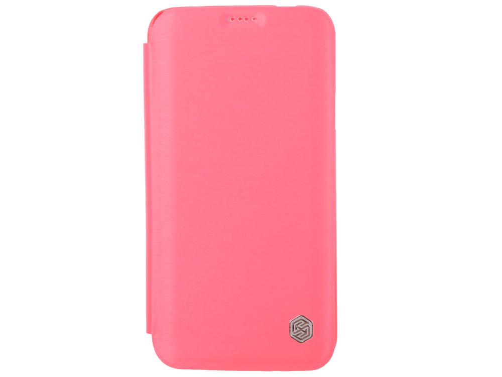 Чехол Nillkin Rain Series Leather Case для Samsung Galaxy S5 G900 красный T-N-SG900-010 sports arm band case w led flickering light for samsung galaxy s5 deep pink black 2 x cr2032