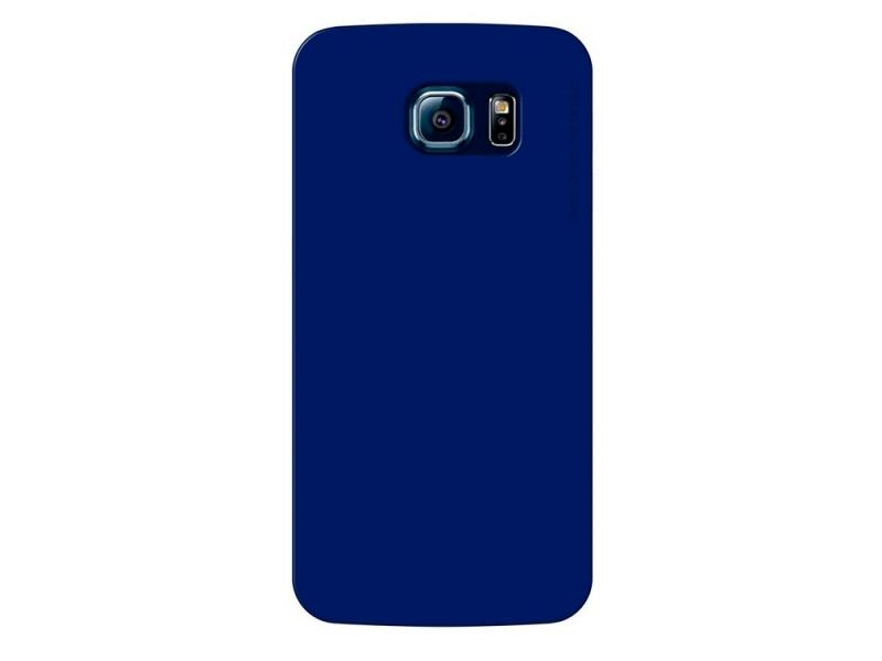 Чехол-накладка для Samsung Galaxy S6 Deppa Sky Case 86037 Blue клип-кейс, поликарбонат