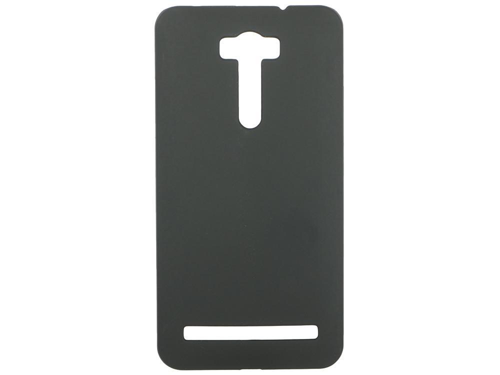 Чехол-накладка для Asus Zenfone 2 Laser ze601kl Pulsar CLIPCASE PC Soft-Touch Black клип-кейс, силикон аксессуар защитное стекло для asus zenfone 2 laser ze601kl krutoff 0 26mm 21992