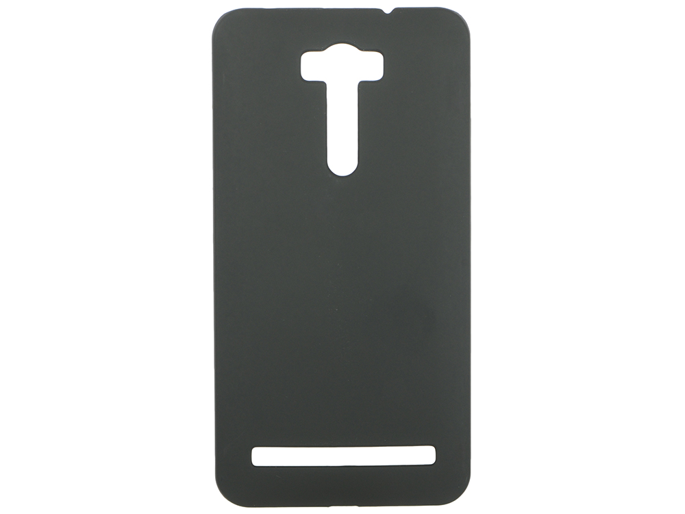 Чехол-накладка для Asus Zenfone 2 Laser ze601kl Pulsar CLIPCASE PC Soft-Touch Black клип-кейс, силикон