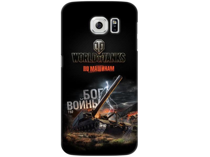 Чехол-накладка и для Samsung Galaxy S6 Deppa Art Case Танки клип-кейс, поликарбонат чехол накладка для samsung galaxy s6 deppa art case person путин клип кейс полиуретан