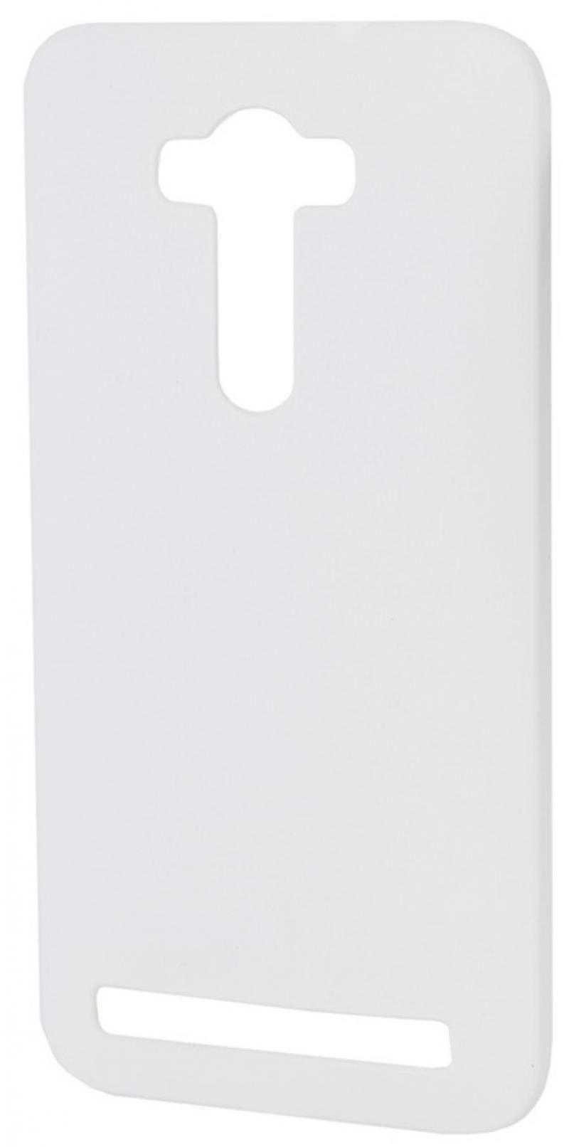 Чехол-накладка для Asus Zenfone С ZC451CG Pulsar CLIPCASE PC White клип-кейс, пластик все цены
