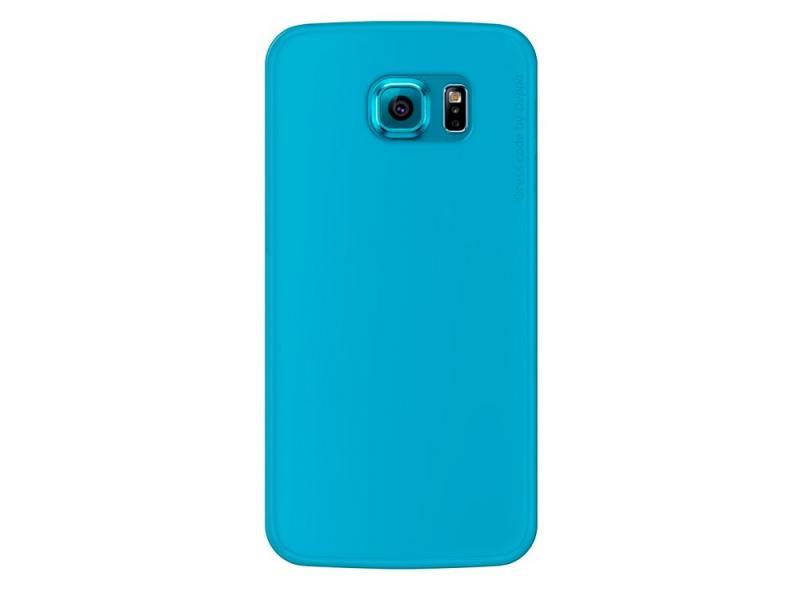 Чехол-накладка для Samsung Galaxy S6 Deppa Sky Case 86038 Blue клип-кейс, поликарбонат