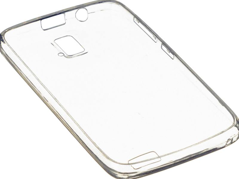 Чехол-накладка для Lenovo A328 iBox Crystal клип-кейс, силикон ibox ут000005622 white