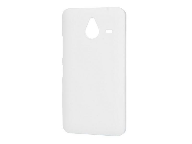 Чехол-накладка для Microsoft Lumia 640 XL Pulsar CLIPCASE PC Soft-Touch White клип-кейс, пластик смартфон microsoft lumia 640 lte white