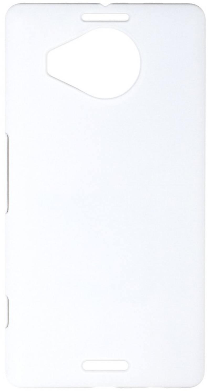 Чехол-накладка для Microsoft Lumia 950XL Pulsar CLIPCASE PC Soft-Touch РСС0162 White клип-кейс, пластик все цены