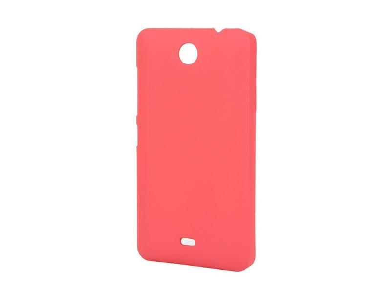Чехол-накладка для Microsoft Lumia 430 Dual Pulsar CLIPCASE PC Soft-Touch Red клип-кейс, пластик стоимость