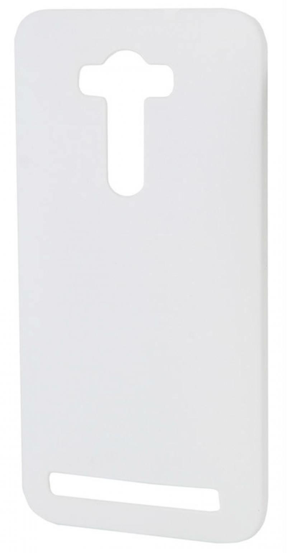 Чехол-накладка для Zenfone 2 Selfie ZD551KL РСС0148 White клип-кейс, пластик чехол для ноутбука gurdini накладка пластик матовый 220048 для macbook pro 15 2008 2012 красный