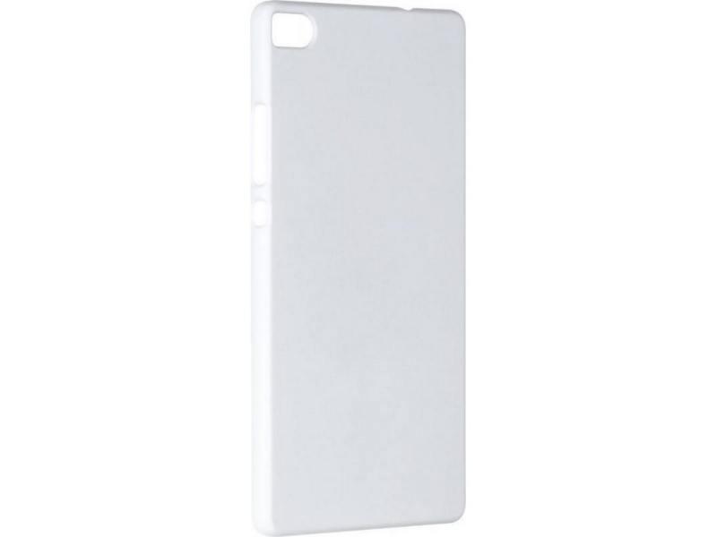 Чехол-накладка для Huawei P8 Pulsar CLIPCASE PC Soft-Touch White клип-кейс, пластик чехол накладка для huawei p8 pulsar clipcase pc soft touch red клип кейс пластик