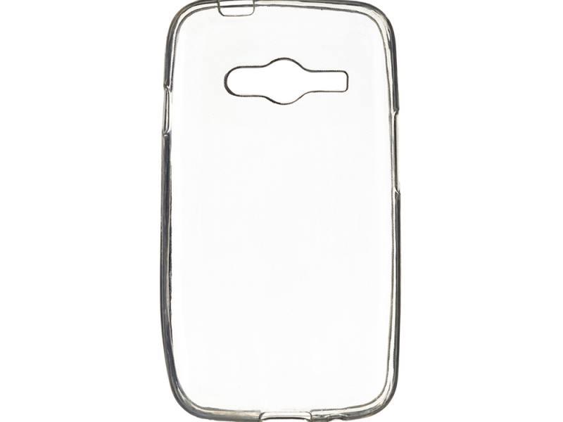 Чехол силикон iBox Crystal для Samsung G313 Galaxy Ace 4 (прозрачный) клип кейс ibox crystal для samsung galaxy j5 прозрачный