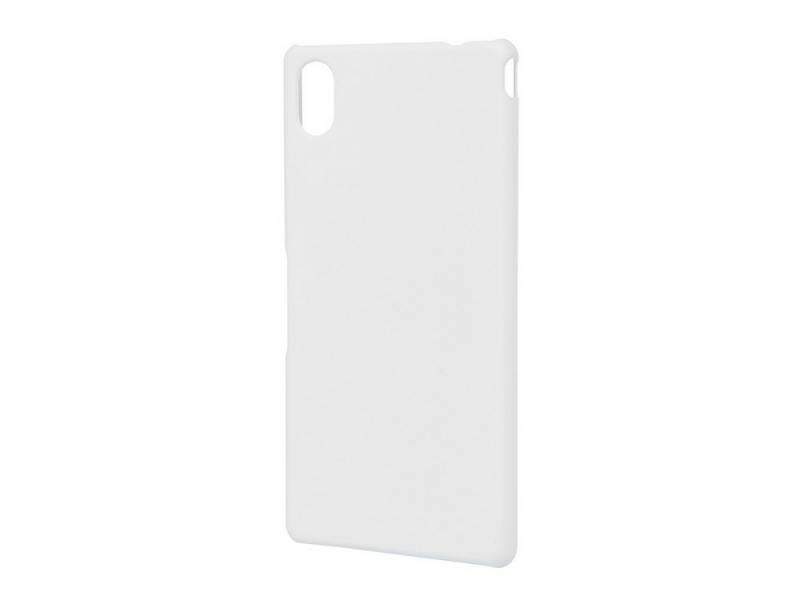 Чехол-накладка Pulsar CLIPCASE PC Soft-Touch для Sony M4 (белая) чехол для lg k7 x210 gecko силиконовая накладка прозрачно глянцевая белая
