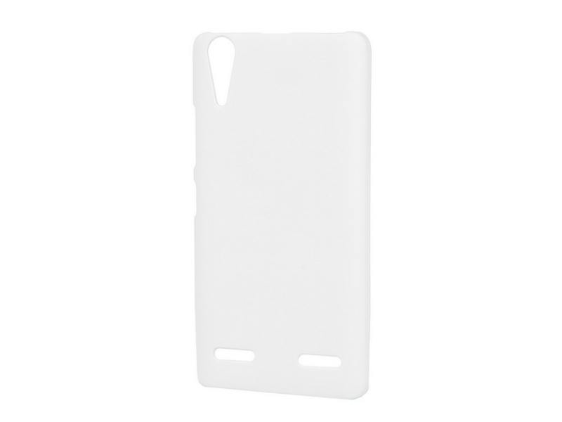 Чехол-накладка для Lenovo A6000 Pulsar CLIPCASE PC White клип-кейс, пластик Soft-Touch black white and gold color high quality for lenovo k5 plus lcd display with touch screen digitizer panel with tools 1 pc a lot