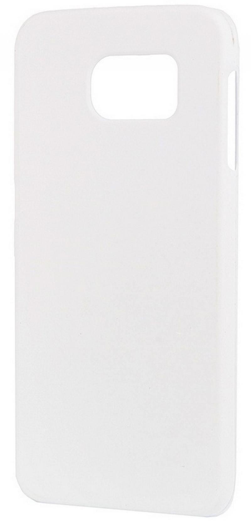 Чехол-накладка для Samsung Galaxy S6 SM-G920F Pulsar CLIPCASE PC РСС0017 White клип-кейс, пластик чехол накладка pulsar clipcase pc soft touch для samsung galaxy e5 sm e500f ds черная рсс0014