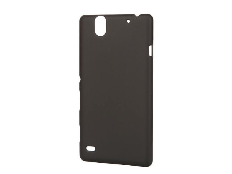 Чехол-накладка для Sony C4 Pulsar CLIPCASE PC Soft-Touch Black клип-кейс, пластик soft-touch стоимость