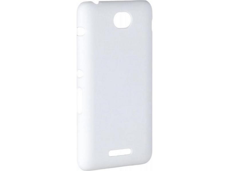 Чехол-накладка для Sony E4 Pulsar CLIPCASE PC Soft-Touch White клип-кейс, пластик чехол накладка для huawei p8 pulsar clipcase pc soft touch red клип кейс пластик
