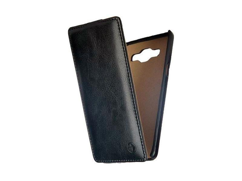Чехол-книжка для Samsung Galaxy A5 SM-A500F PULSAR SHELLCASE PSC0394 Black флип, кожзаменитель защитная плёнка для samsung galaxy a5 2016 sm a510f front