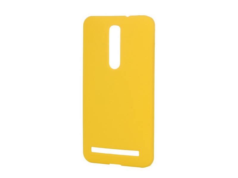 Чехол-накладка Pulsar CLIPCASE PC Soft-Touch для Asus Zenfone 2 ZE551ML 5.5 inch (желтая) телефон asus zenfone 2 ze551ml 32gb ram 4gb золотой