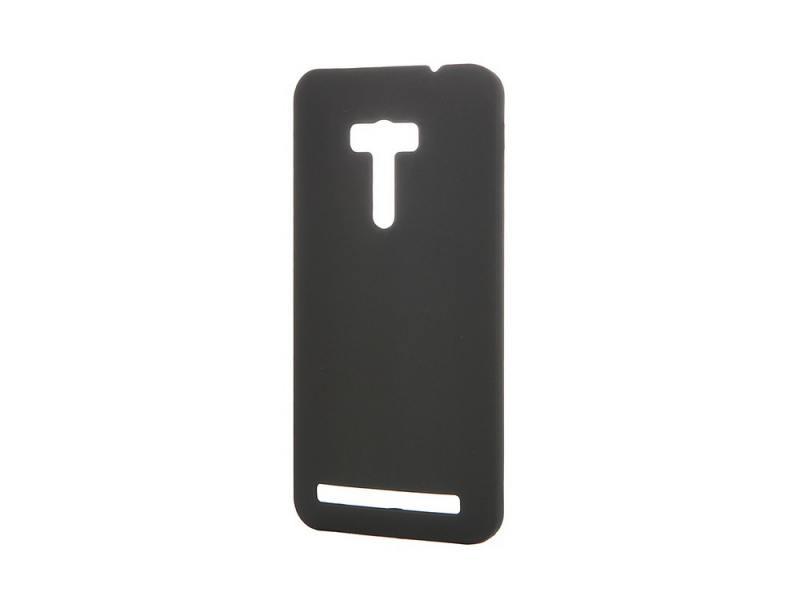 Чехол-накладка для Asus Zenfone Selfie ZD551KL Pulsar CLIPCASE PC Soft-Touch РСС0035 Black клип-кейс, пластик asus zenfone selfie zd551kl 16gb pink 1i125ru