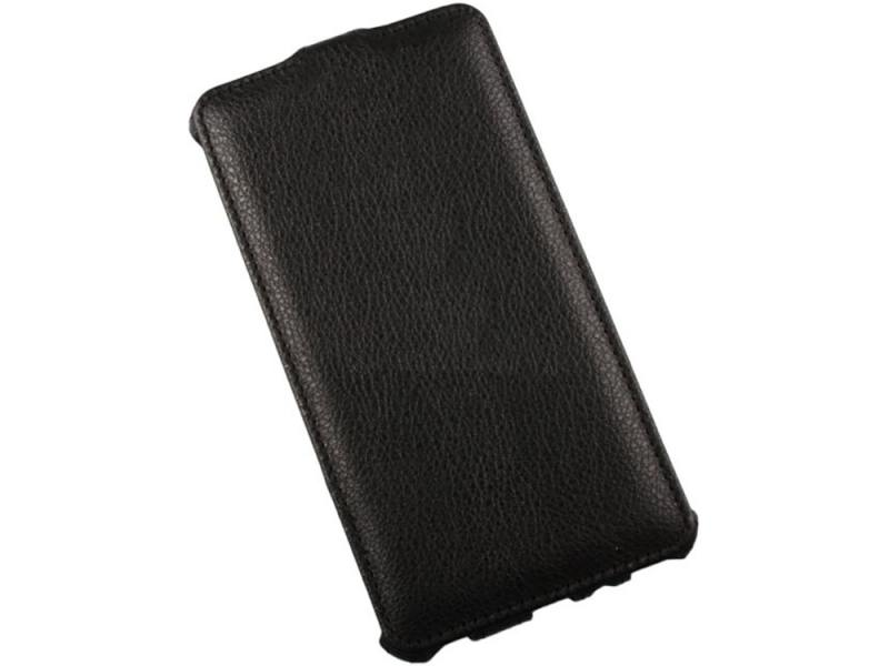 Чехол LP для Samsung Galaxy A7 раскладной кожа черный 0L-00000754