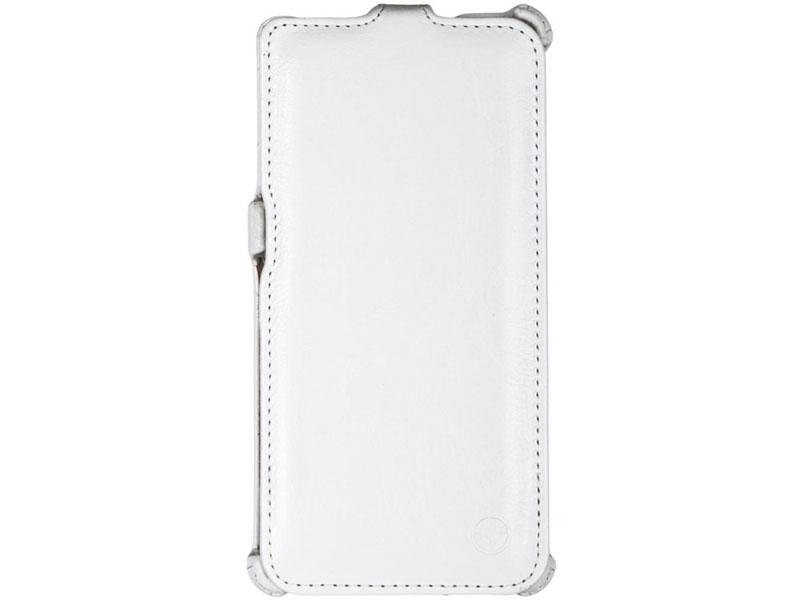 Чехол-книжка для Sony Xperia M4 PULSAR SHELLCASE White флип, искусственная кожа чехол флип pulsar shellcase для fly nimbus 3 fs501 черный