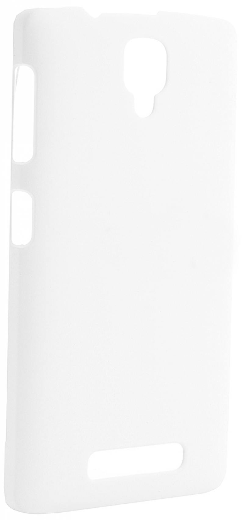 Чехол-накладка Pulsar CLIPCASE PC Soft-Touch для Lenovo A1000 (белая) чехол для lg k7 x210 gecko силиконовая накладка прозрачно глянцевая белая