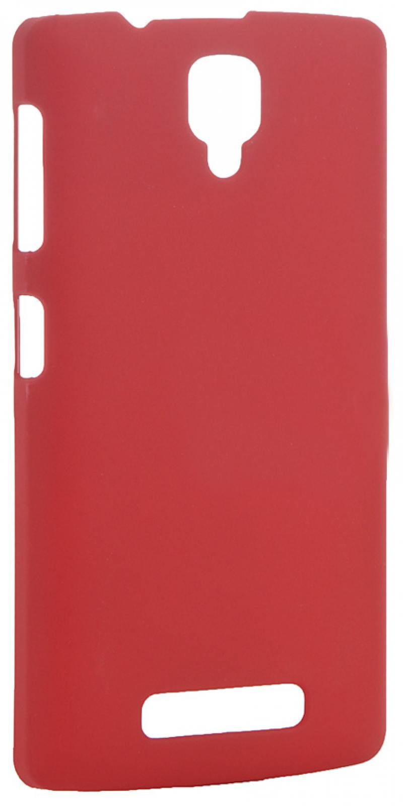 Чехол-накладка для Lenovo A1000 Pulsar CLIPCASE PC Soft-Touch Red клип-кейс, пластик soft-touch все цены