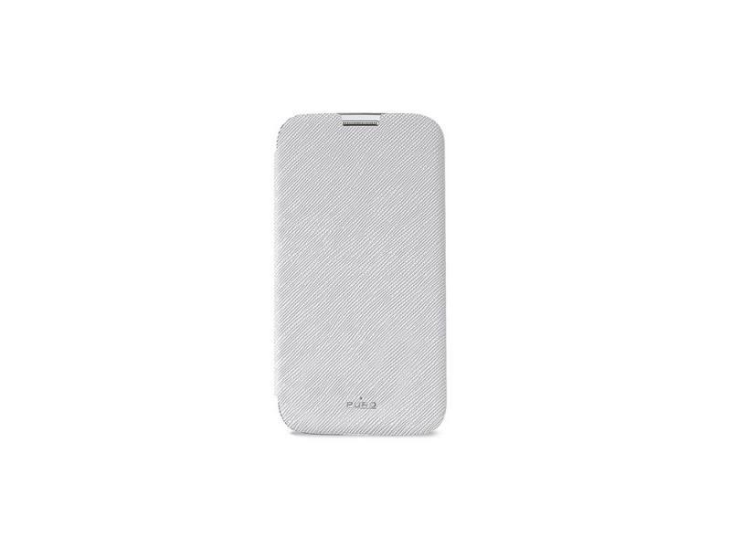 Чехол PURO для Galaxy S5 отделение для кредитных карт белый SGS5BOOKCWHI розовый медведь стиль тиснение классический откидная крышка с функцией подставки и слот для кредитных карт для samsung galaxy a3 2016