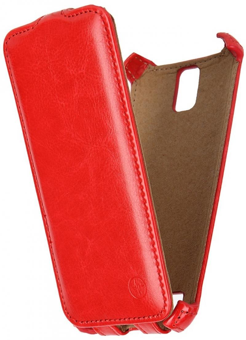 Чехол-книжка для ASUS Zenfone С ZC451CG PULSAR SHELLCASE Red флип, искусственная кожа