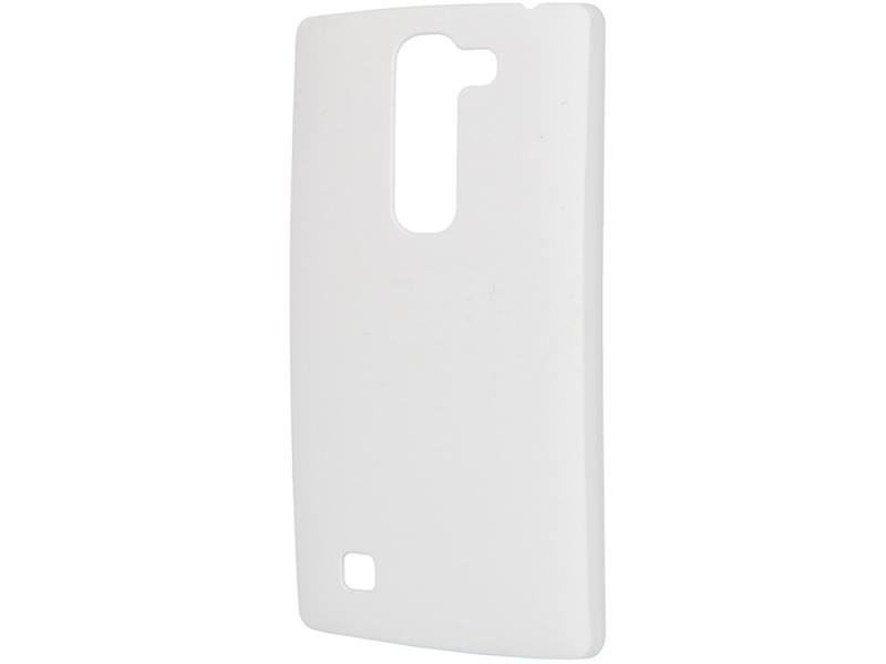 Чехол-накладка для LG Magna Pulsar CLIPCASE PC Soft-Touch White клип-кейс, пластик клип кейс lg cch 210 для l5 ii черный