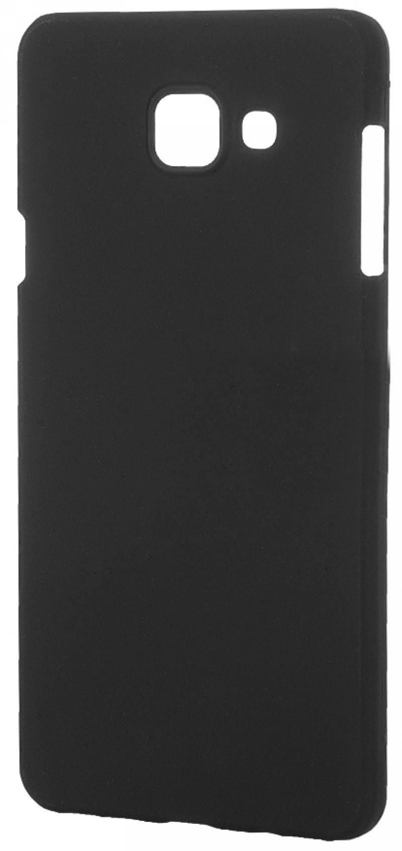Чехол-накладка для Samsung Galaxy A7 2016 Pulsar CLIPCASE PC Soft-Touch Black клип-кейс, пластик клип кейс uniq samsung galaxy s10e black