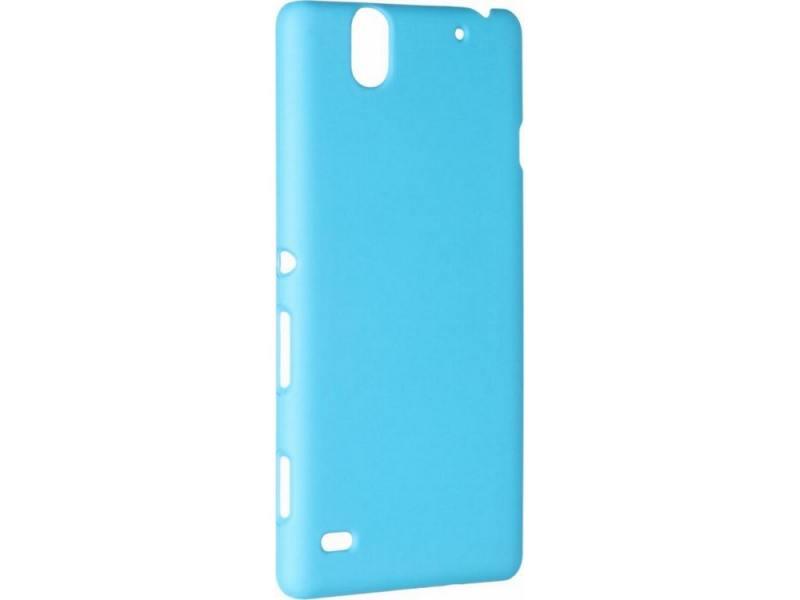 Чехол-накладка Pulsar CLIPCASE PC Soft-Touch для Sony C4 (синяя) стоимость