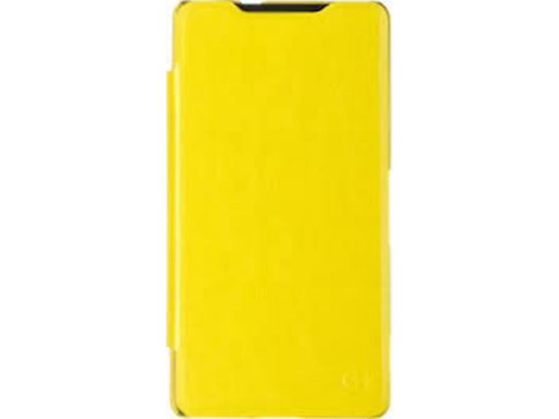 Чехол-книжка для Sony Xperia C5 Ultra Dual PULSAR SHELLCASE Yellow флип, искусственная кожа skinbox 4people чехол для sony xperia c5 ultra yellow