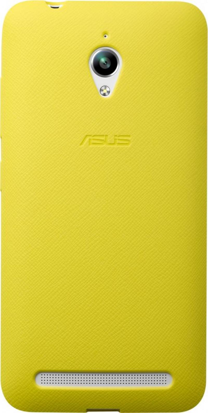 Задняя крышка Asus для ZenFone GO ZC500TG PF-01 BUMPER CASE желтый 90XB00RA-BSL3Q0 цена