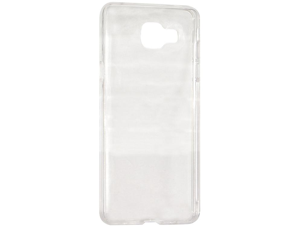 Крышка задняя для Samsung Galaxy A5 2016 Силикон Прозрачный чехол крышка skinbox slim silicone для samsung galaxy j1 2016 прозрачный