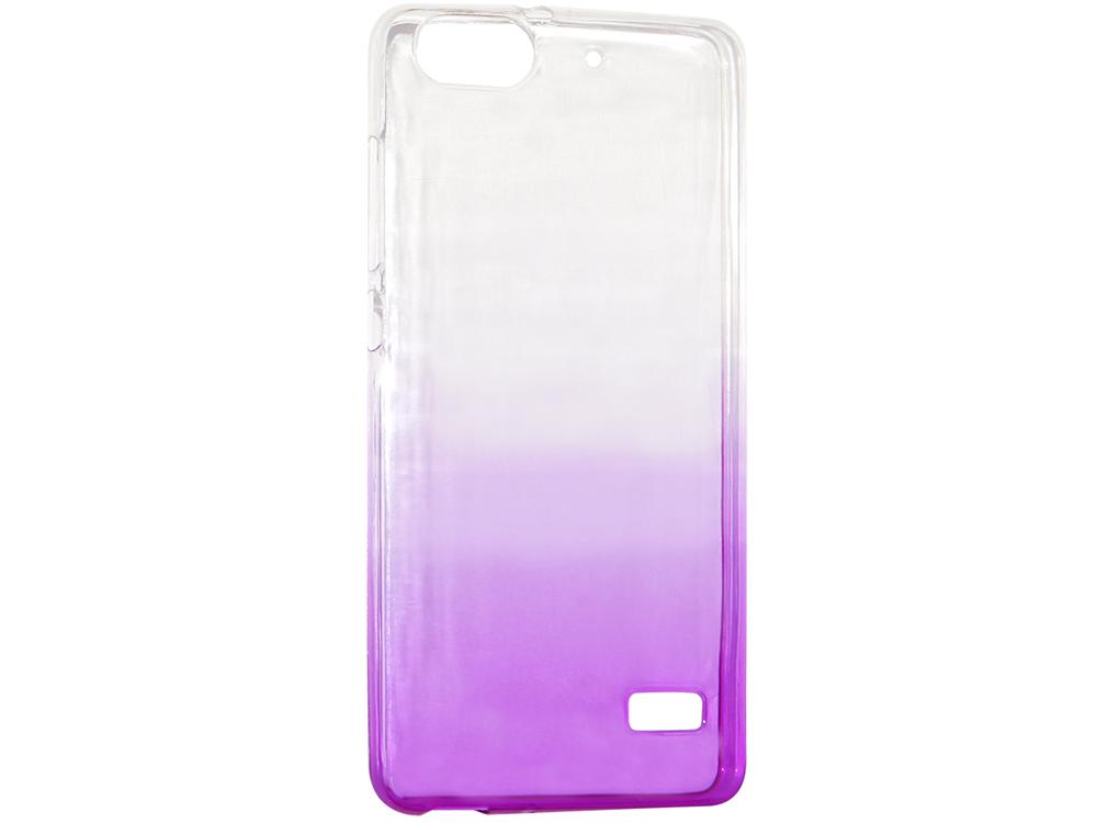 Крышка задняя для Huawei 4C Силикон Фиолетовый крышка задняя для huawei p8 lite силикон фиолетовый