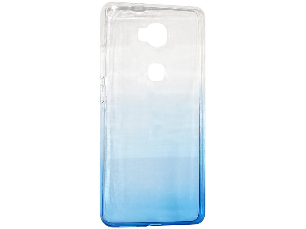 цена на Крышка задняя для Huawei 5X Силикон Синий