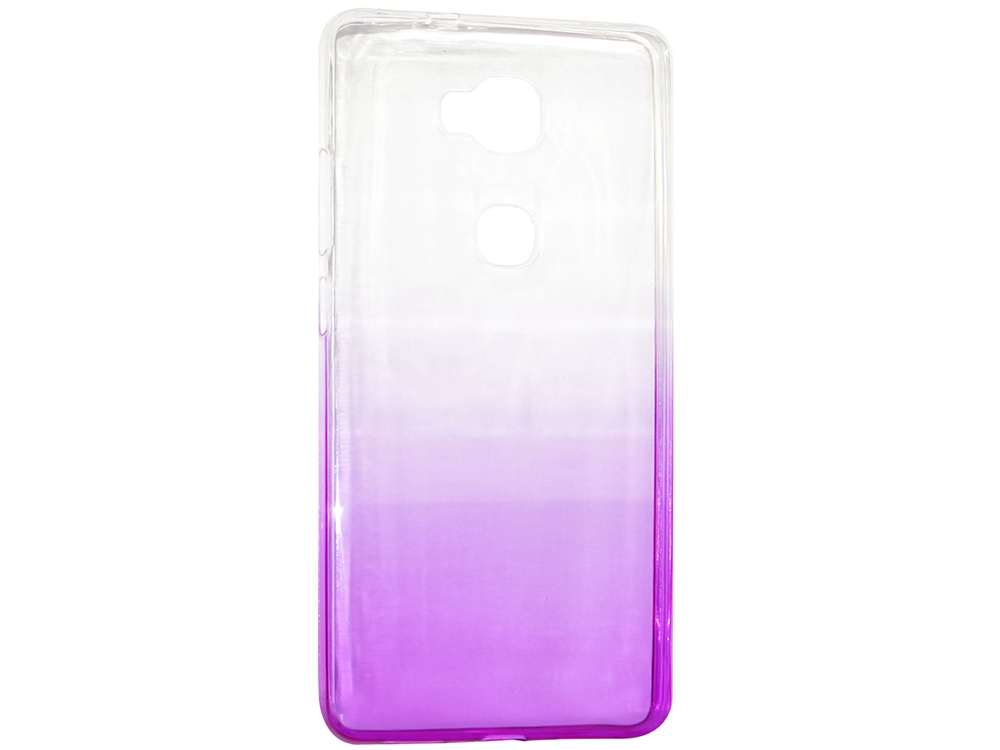 Крышка задняя для Huawei 5X Силикон Фиолетовый крышка задняя для huawei p8 lite силикон фиолетовый