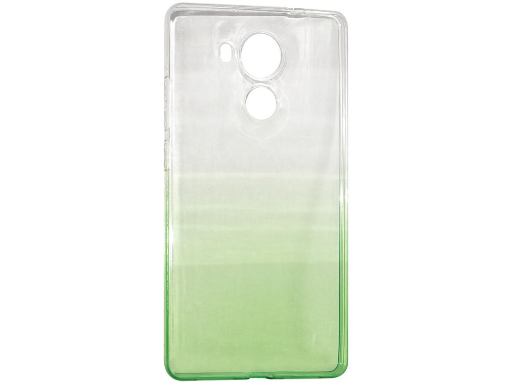 Крышка задняя для Huawei MATE 8 Силикон Зелёный крышка задняя для huawei mate 8 силикон синий