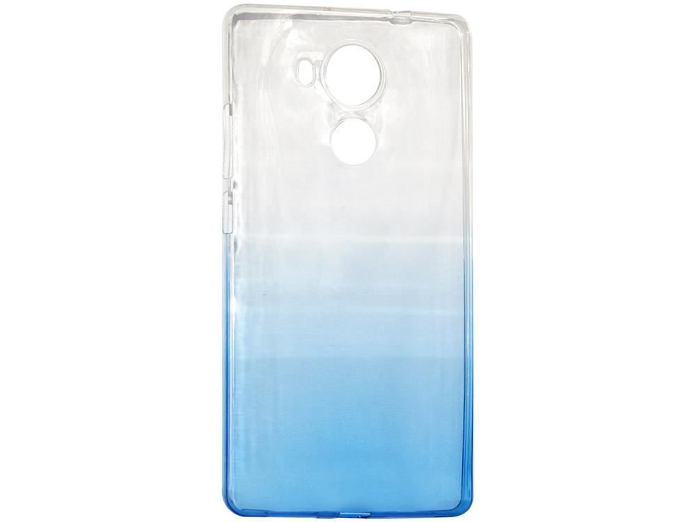 цена на Крышка задняя для Huawei MATE 8 Силикон Синий