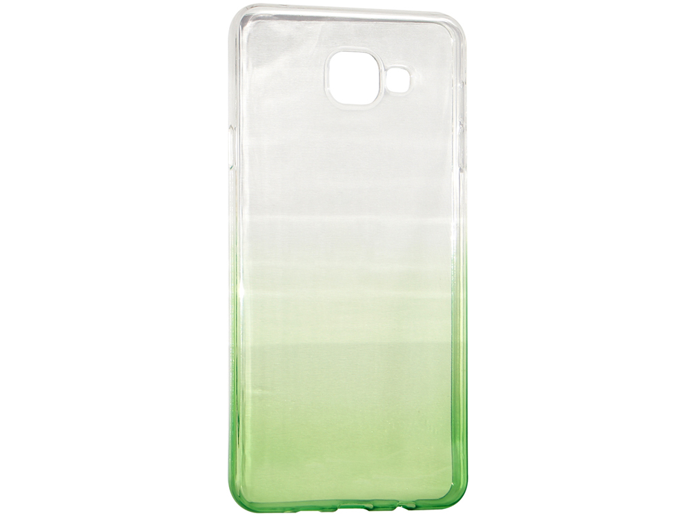 Крышка задняя для Samsung A5 2016/A510 Силикон Зелёный темно синий стиль pu кожаный бумажник держателя карты откидная крышка чехол дляsamsung a510