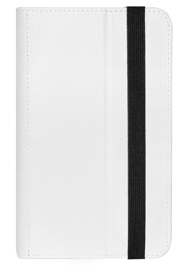 Чехол для планшета IQ Format универсальный 7 Белый чехол sumdex tch 974 bk чехол для планшета 9 7 универсальный черный