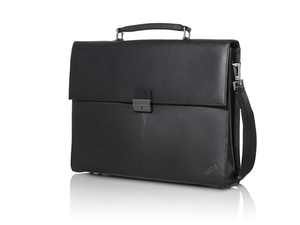 """Сумка для ноутбука 14.1"""" Lenovo Executive Leather кожа черный 4X40E77322"""