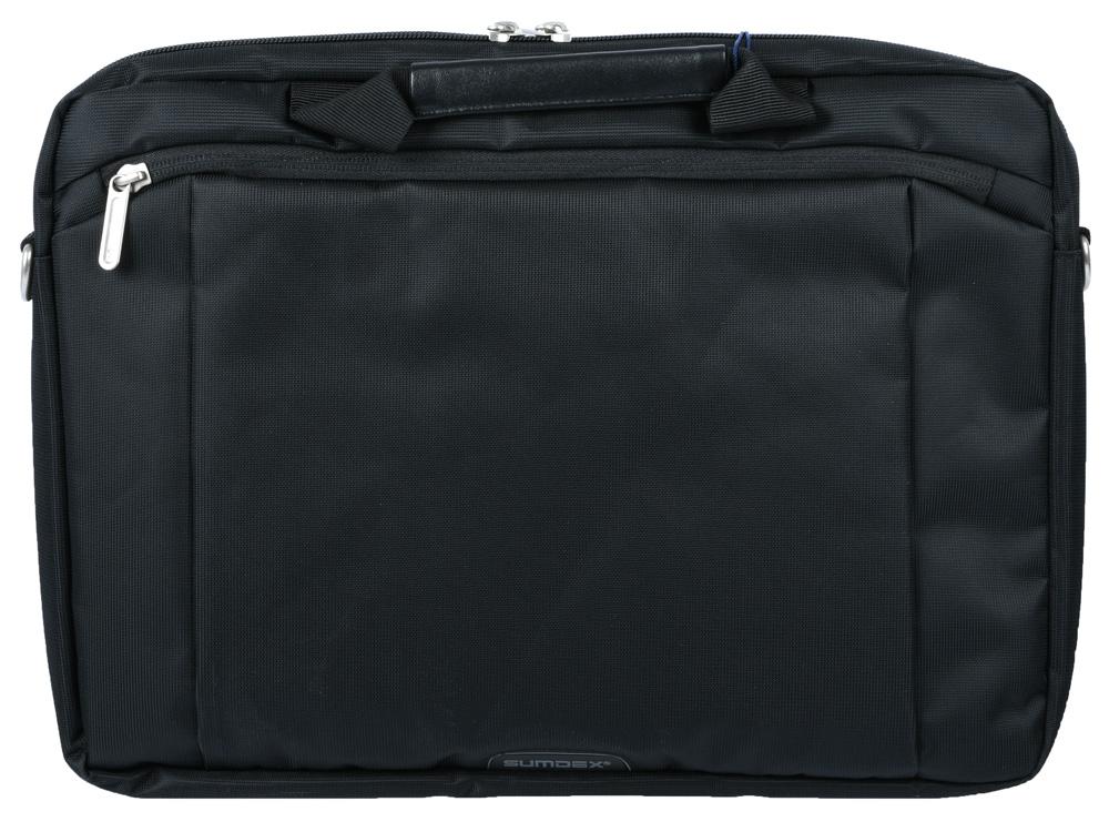 Сумка для ноутбука 13.3 Sumdex PON-113BK полиэстер черный 17 3 сумка для ноутбука sumdex pon 303jb нейлоновая черная
