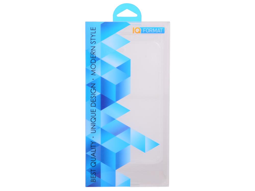 Чехол-накладка для iPhone 7 Plus slim IQ Format White клип-кейс, пластик стоимость